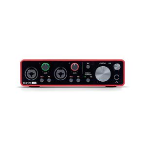 Focusrite Scarlett 2i2 (3rd Gen) USB Audio Interface with Pro Tools