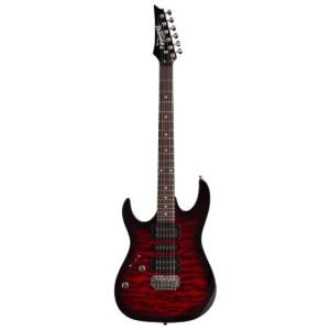 Ibanez GRX70QA Electric Guitar Transparent Red Burst Left Handed