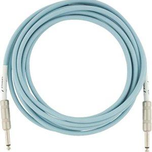 fender original series cable (10 ft,Daphne Blue)